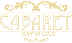 Cabaret Supper Club, Belfast Sticky Logo